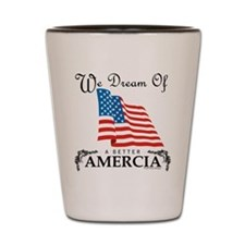 Amercia Shot Glass