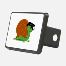 Green Graduation Snail Hitch Cover