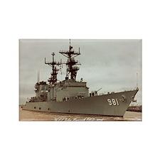 USS JOHN HANCOCK Rectangle Magnet