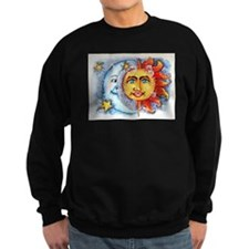 Celestial Sun and Moon Sweatshirt