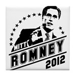 Romney 2012 Tile Coaster