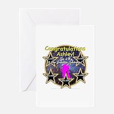 Grad Girls Ashley: 0002 Greeting Card