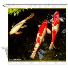 Koi, colorful, fish photo! Shower Curtain