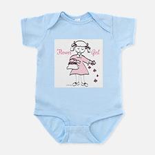 Flower Girl Pretty in Pink Infant Bodysuit