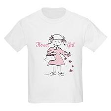 Flower Girl Pretty in Pink T-Shirt