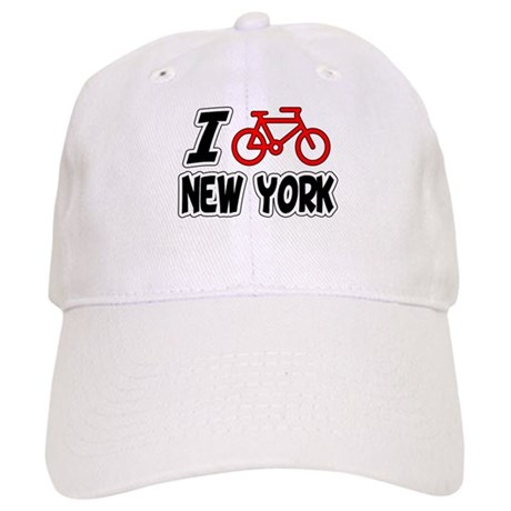 I Love Cycling New York Cap