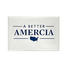 A Better Amercia Rectangle Magnet