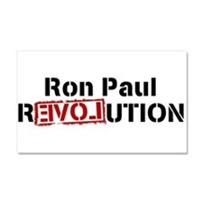 ronpaulrevolution Car Magnet 20 x 12