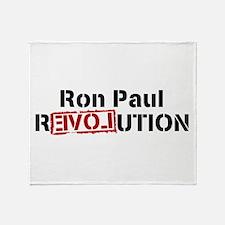 ronpaulrevolution Throw Blanket
