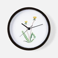 Funny Dandelion Wall Clock