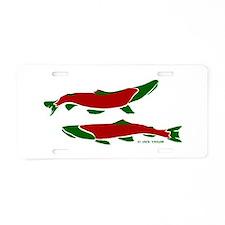 RedGreen Aluminum License Plate