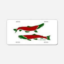 RedGreen Aluminum License Plate