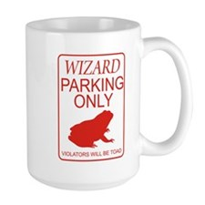 Wizard Parking Mug