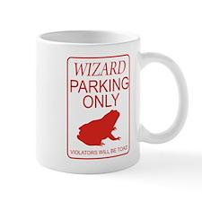 Wizard Parking Small Mug