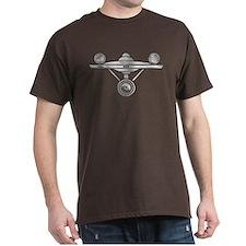 Enterprise Silver Art T-Shirt