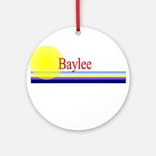 Baylee Ornament (Round)