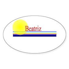 Beatriz Oval Decal