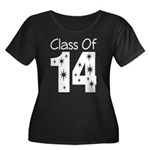 Class of 2014 Gift Women's Plus Size Scoop Neck Da