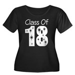 Class of 2018 Gift Women's Plus Size Scoop Neck Da