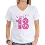 Class of 2018 Gift Women's V-Neck T-Shirt