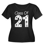 Class of 2021 Gift Women's Plus Size Scoop Neck Da
