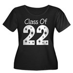 Class of 2022 Gift Women's Plus Size Scoop Neck Da