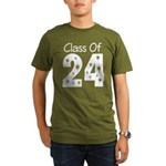 Class of 2024 Gift Organic Men's T-Shirt (dark)