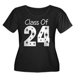 Class of 2024 Gift Women's Plus Size Scoop Neck Da