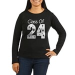 Class of 2024 Gift Women's Long Sleeve Dark T-Shir