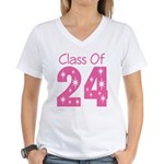 Class of 2024 Gift Women's V-Neck T-Shirt