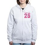 Class of 2025 Gift Women's Zip Hoodie