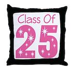 Class of 2025 Gift Throw Pillow