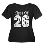 Class of 2026 Gift Women's Plus Size Scoop Neck Da