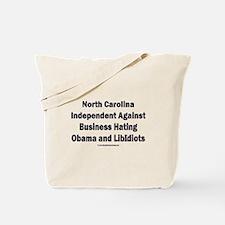 North Carolina Independent Tote Bag