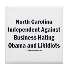 North Carolina Independent Tile Coaster