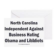 North Carolina Independent Greeting Card