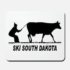 Ski South Dakota Mousepad