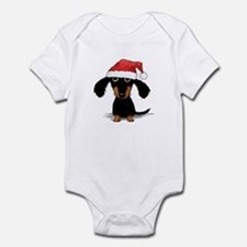 Doxie Clause Infant Bodysuit