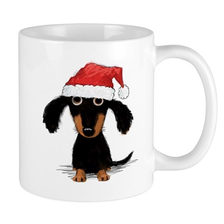 Doxie Clause Mug
