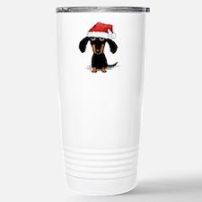 Doxie Clause Travel Mug