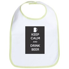 Keep Calm and Drink Beer Bib