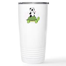 Turtle and Panda 1 Travel Mug