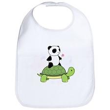 Turtle and Panda 1 Bib
