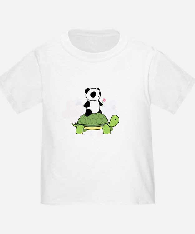 Turtle and Panda 1 T