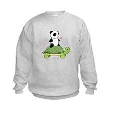 Turtle and Panda 1 Sweatshirt