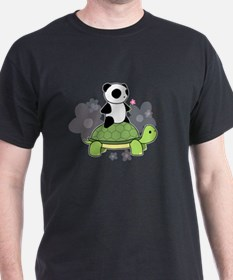 Turtle and Panda 1 T-Shirt