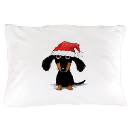 Doxie Clause Pillow Case