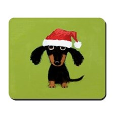 Doxie Clause Mousepad