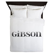 Gibson Carved Metal Queen Duvet