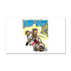 Lab Rat 03 Car Magnet 20 x 12